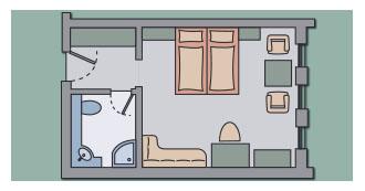 Doppelzimmer Rotbuche