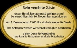 Geschlossen -Waldblick-Kniebis Hotel Freudenstadt