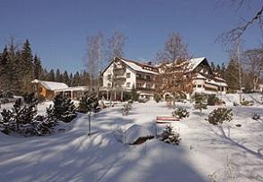 Winter Waldblick-Kniebis Hotel Freudenstadt